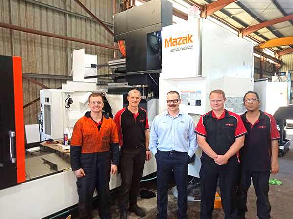 Brent and Warburton Mazak FJV 60 80