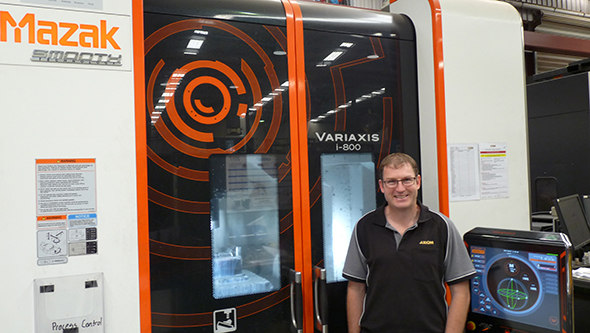 mazak variaxis i800 at axiom precision manufacturing