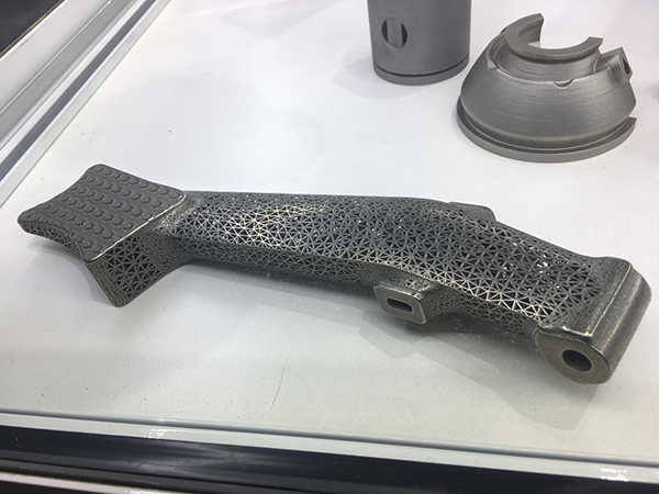 Austech 2019 Metal 3D Printed Part EOS Additive Manufacturing Solutions